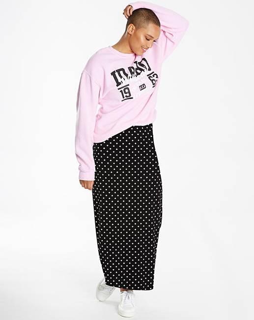 766b5f5ded0 Spot Tube Jersey Maxi Skirt