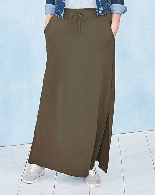 8ff90ae728 Pack of 2 Side Split Maxi Skirts | Oxendales