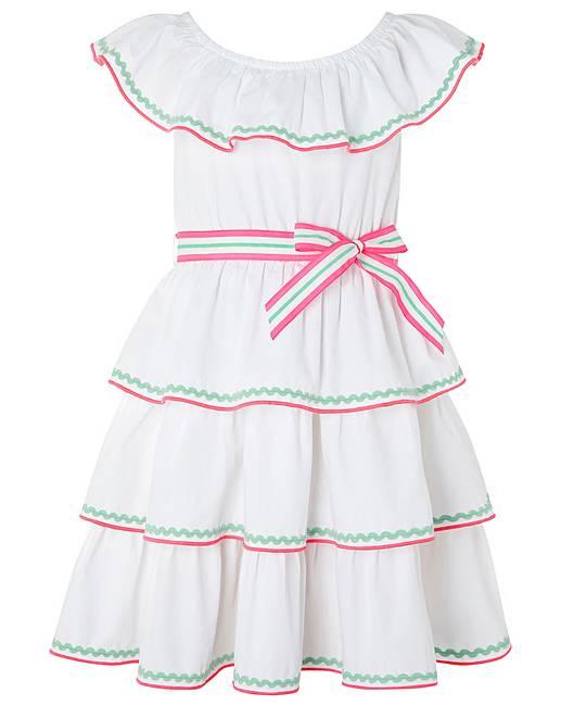 48886af8eb Monsoon Riley Ricrac Dress | J D Williams