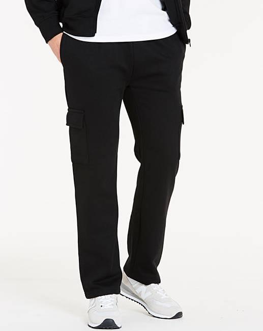 1b2c5451742192 Black Cargo Trousers 29in | Fashion World