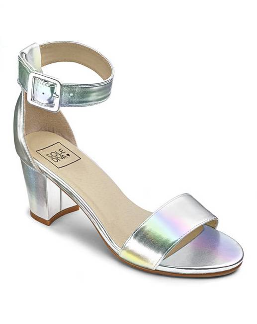 Sole Diva Block Heel Sandals E Fit outlet wiki 3MJlolA2