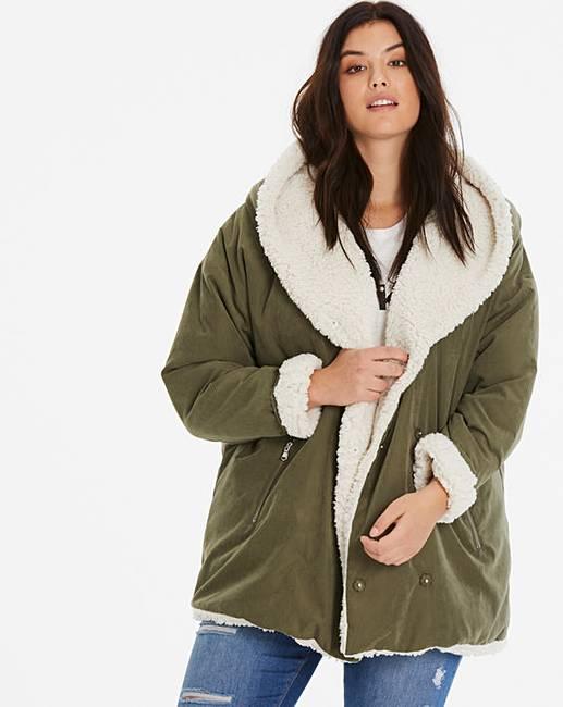 Junarose Parka Jacket by Simply Be