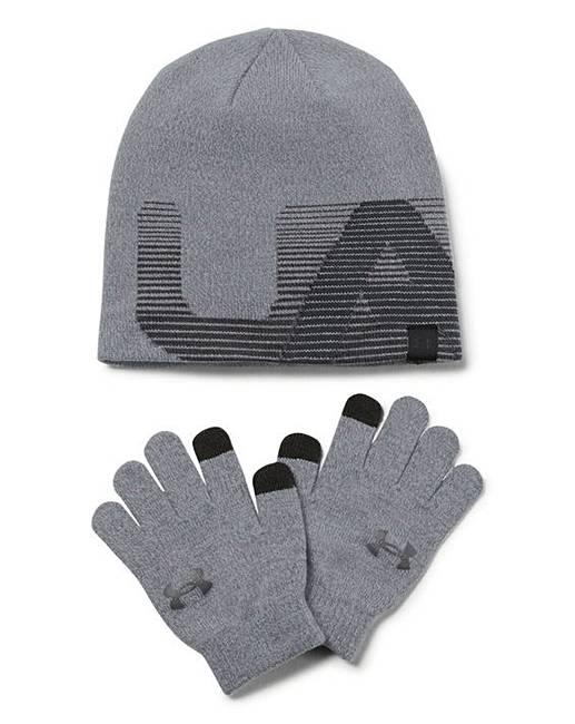Under Armour Boys Beanie and Glove  0c003553c4b