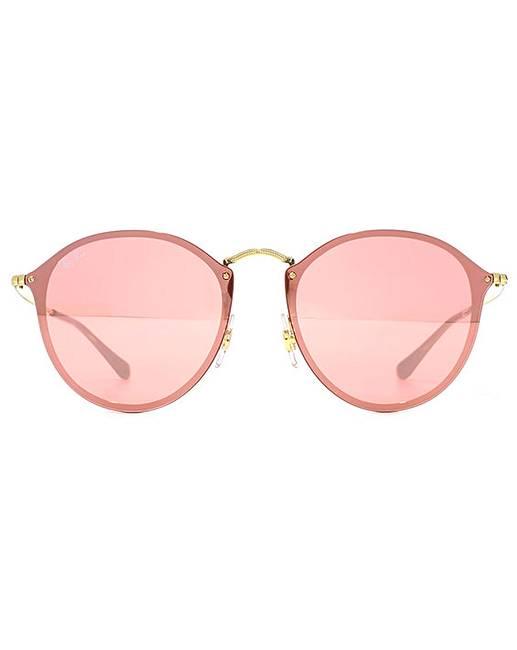 476094e58909 Ray-Ban Blaze Round Sunglasses | Simply Be