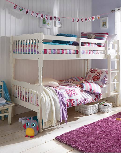 Silva Sleeper Deluxe Pine Bunk Bed With Mattress