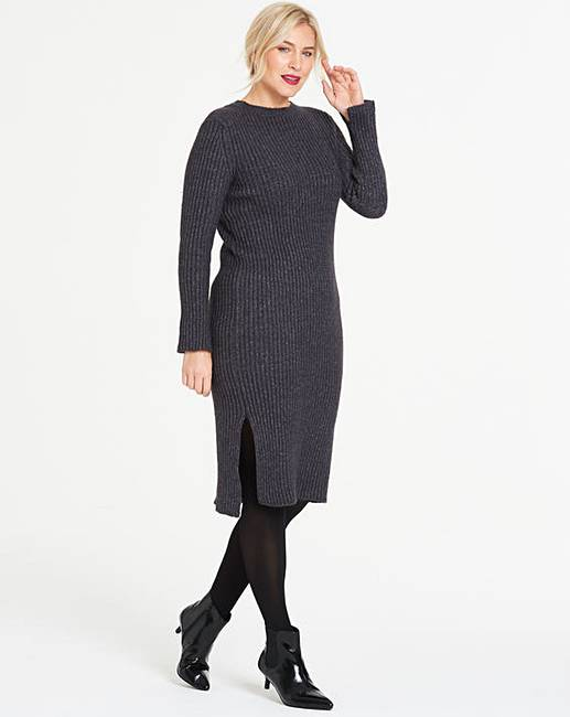 afbbb6f8f505 Vero Moda Knitted Midi Dress | J D Williams