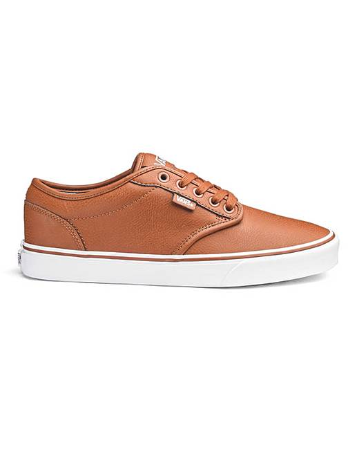 d2b9f646c6446b Vans Atwood Leather Trainers