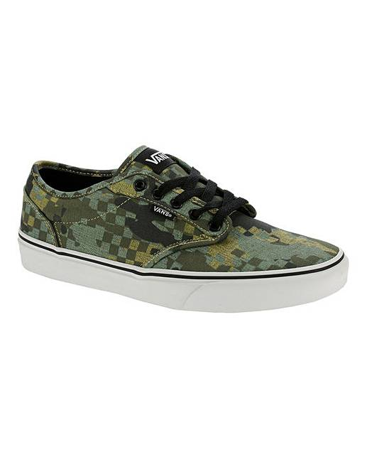 ebf47a75e15 Vans Atwood Camo Mens Trainers