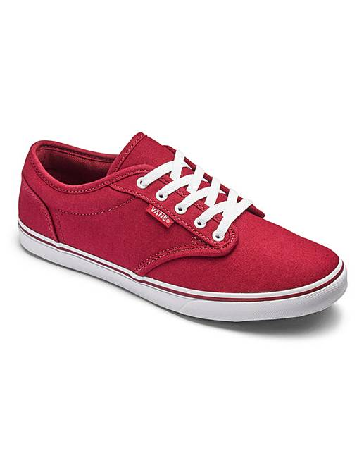 d9660282852e Vans Atwood Low Lace Womens Trainers