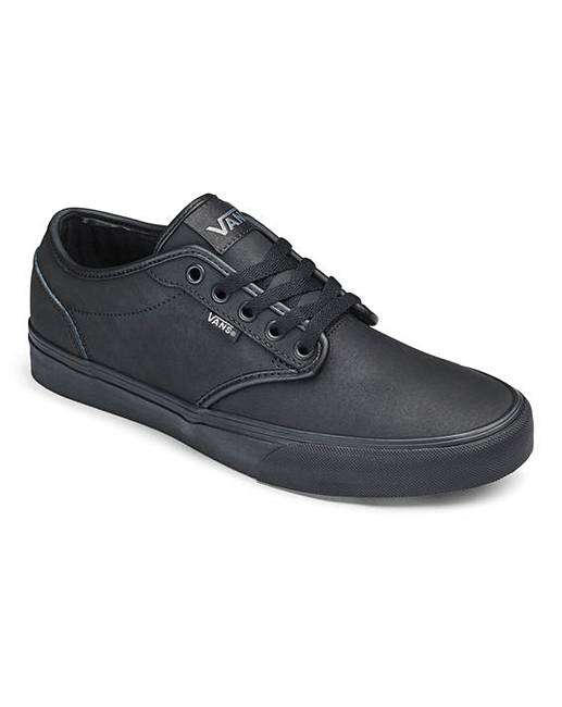 c100ceb10 Vans Atwood Leather Lace Mens Trainers