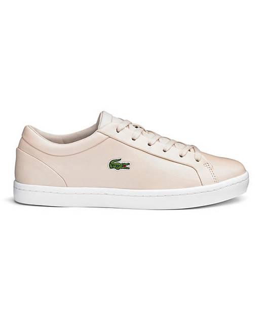 7a40af1a Lacoste Straightset Womens Trainers | Simply Be