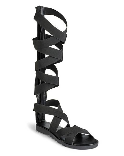 d26b001327e Sole Diva Elasticated Sandals E Fit