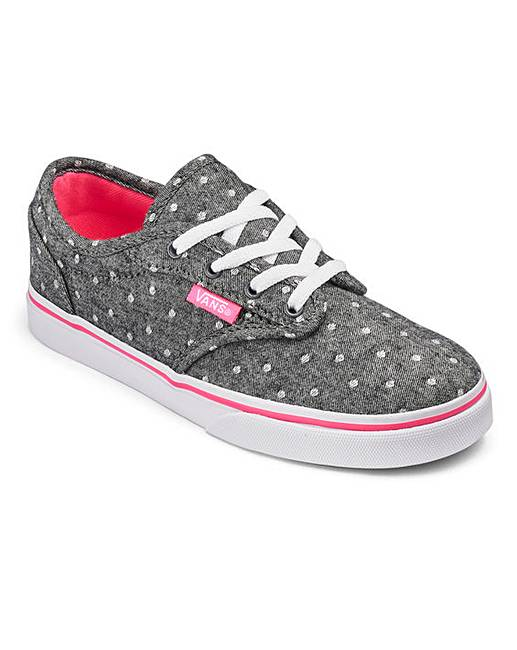 f0f35a56e9 Vans Atwood Low Lace up Youth Trainers