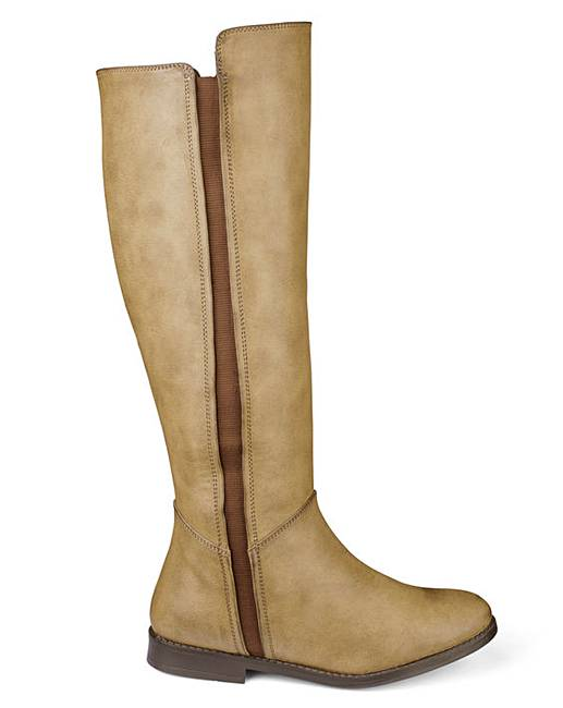 387036592fe9 Sole Diva Boots Super Curvy EEE Fit
