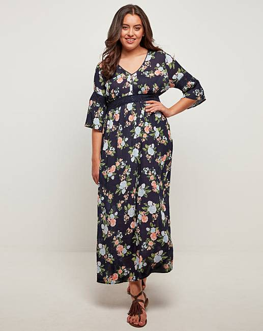 38956d7d5cf4 Joe Browns Boho Gypsy Maxi Dress | J D Williams