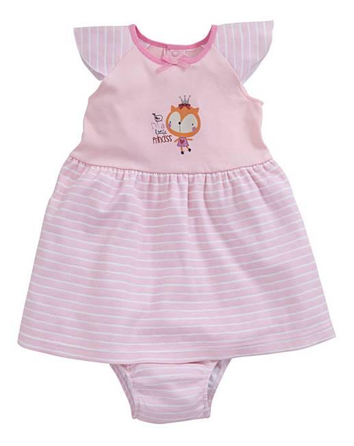 207e1b5fd8ae KD Baby Girl Dress and Knicker Set