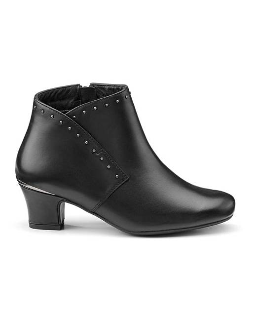 online here exclusive deals footwear Hotter Dallas Wide Fit Formal Boot