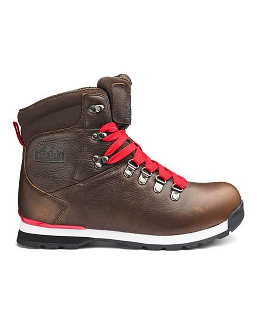 4e21f6156db Snowdonia Mens Leather Walking Boots