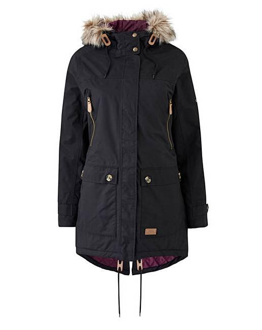 2ffd8b12a4e Trespass Clea Waterproof Rain Jacket