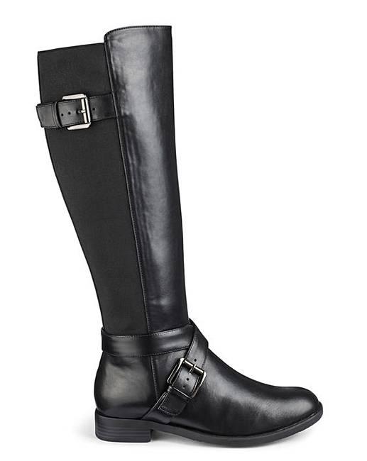 1c0158689227 High Leg Boots EEE Fit Curvy Calf