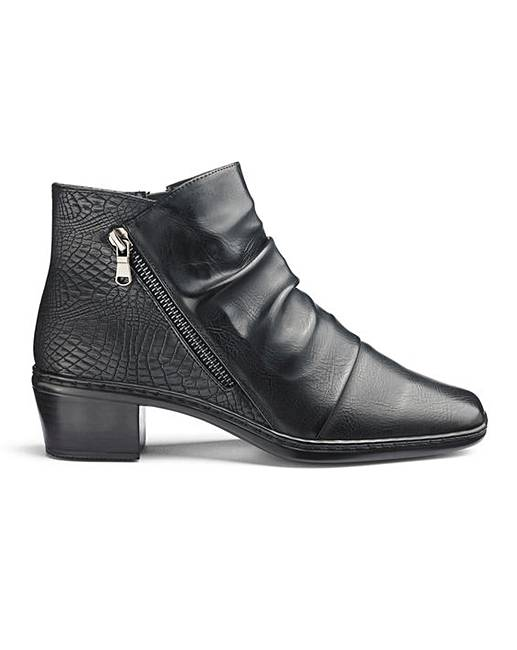 a500056fd08 Cushion Walk Ankle Boots EEE Fit