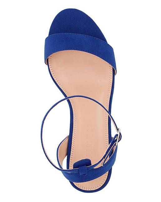 E Kitten Sandals Fit Heel Strappy EHDI29YW