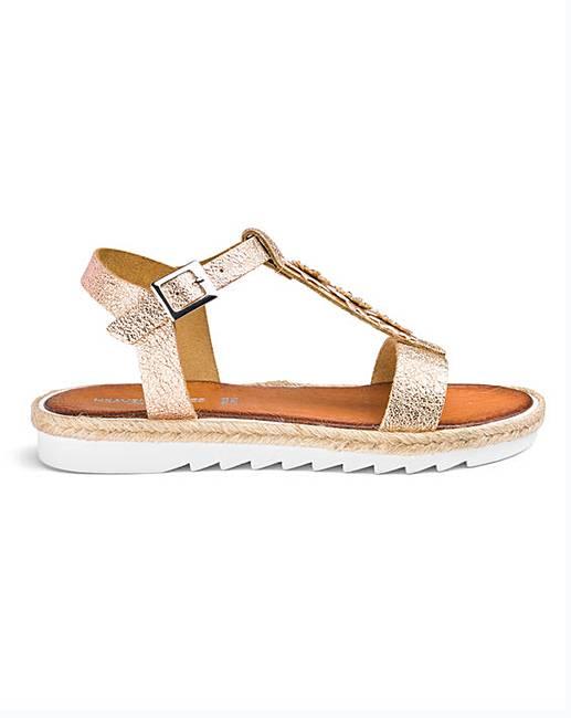 Flower Sandals Italy Made E In Fit xhQdBtsrC
