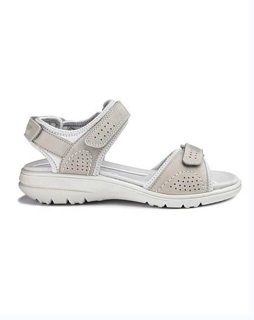 a7b53c8dff42 Hotter Mae Nubuck Sandals D Fit