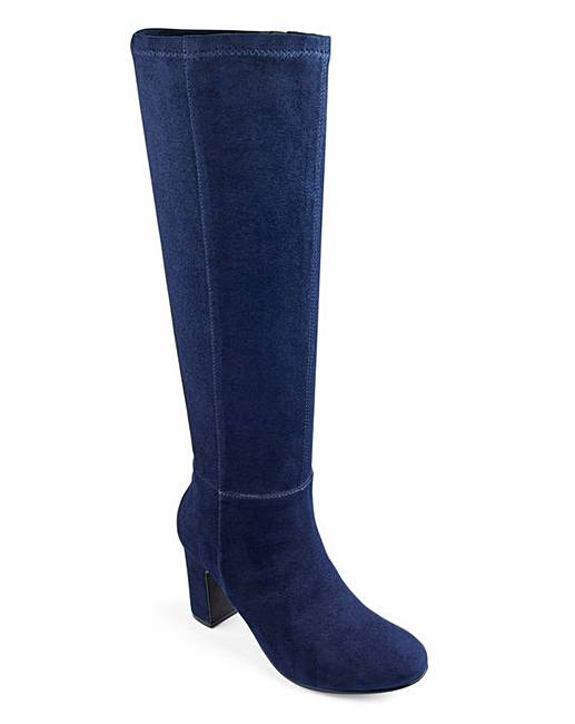 6b5164bf814 Soft Knee High Boots Extra Wide EEE Fit Standard Calf