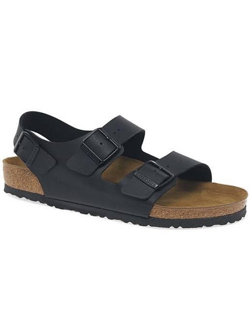 3ede4503fac9 Birkenstock Milano Mens Buckle Sandals