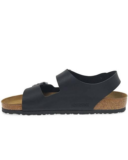 6730a34e261ae Birkenstock Milano Mens Buckle Sandals