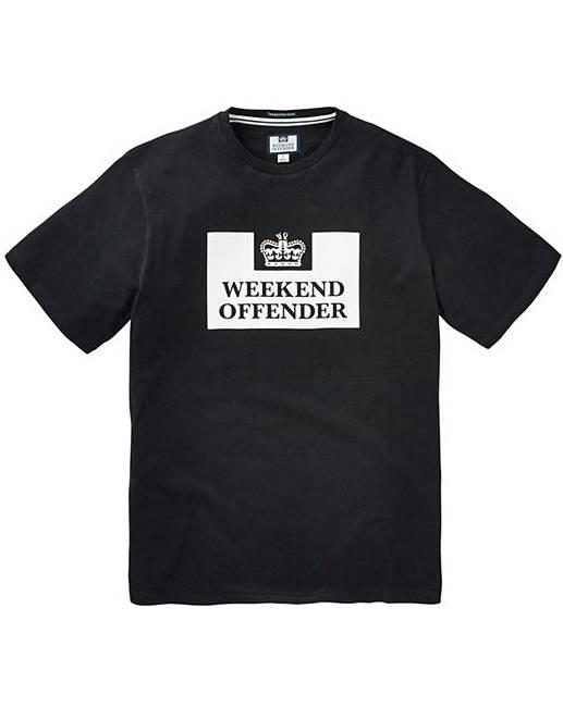 Weekend Offender Prison T-Shirt Regular