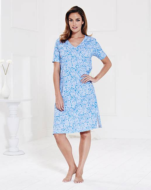 Pretty Secrets Cotton Jersey Nightdress  c00ff70a4c8b