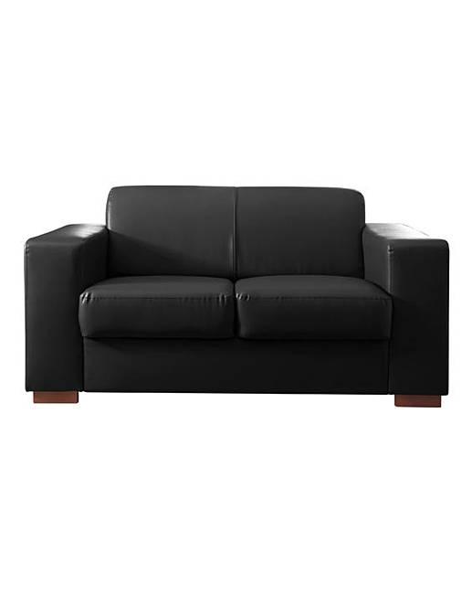 Memphis Faux Leather 2 Seater Sofa