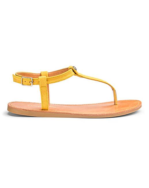 a625a8dea19f Valerie Toepost Sandals Extra Wide Fit