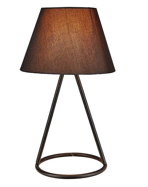 Black Wire Table Lamp J D Williams