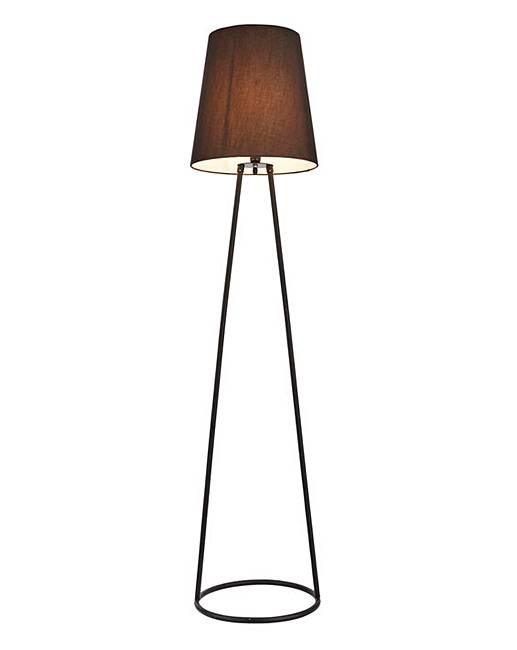 Black Wire Floor Lamp   Fashion World