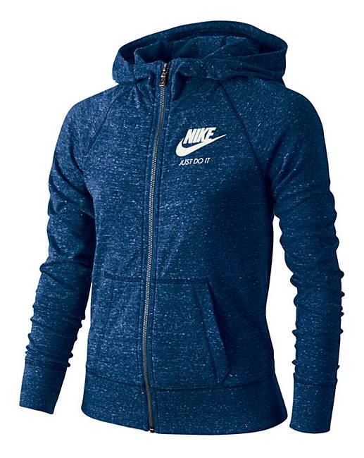 b77571b8b Nike Girls Sportswear Gym Vintage FZ Hoo | Oxendales