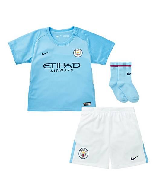 meet 9a641 c0fed Nike Boys Infants MCFC Kit