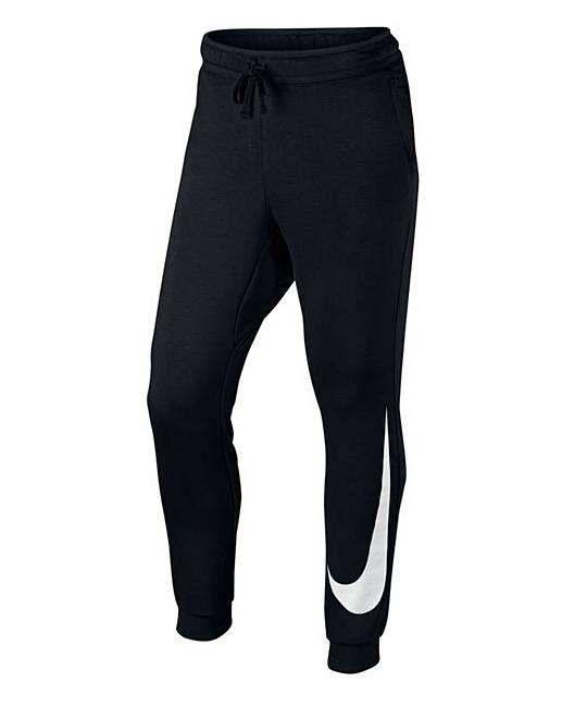 2703c3e436cf Nike Fleece Hybrid Jogging Bottoms 31in