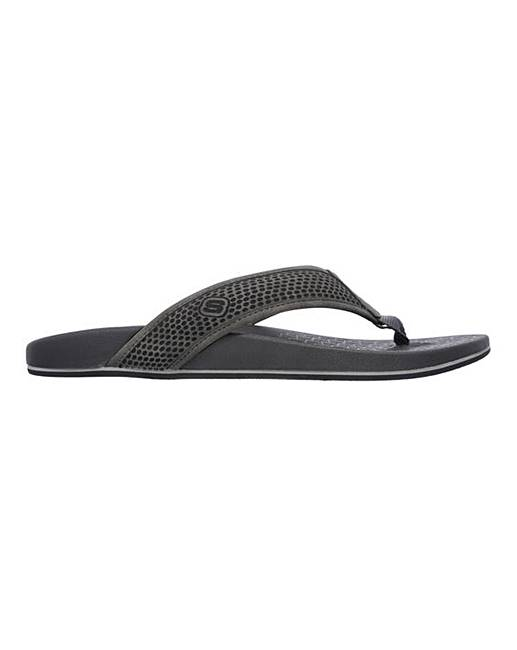 5327df91b3b Skechers Pelem Emiro Toe Post Sandals