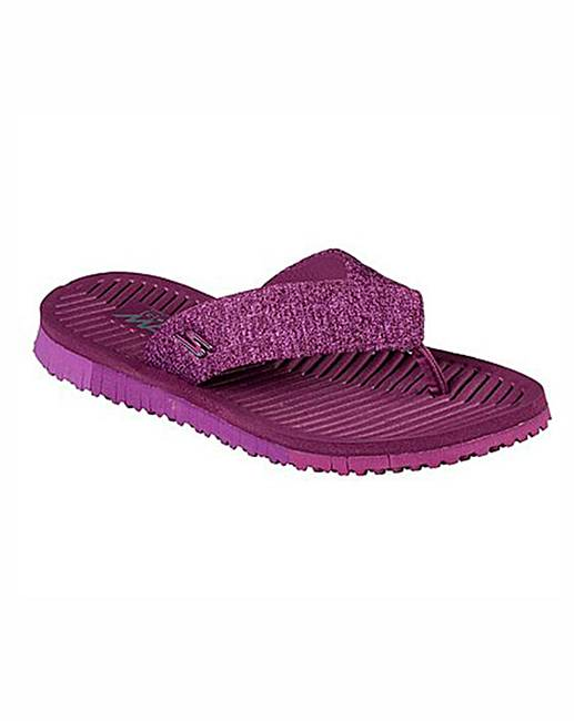 808c9a1a0d0 Skechers Go Flex Solana Sandals