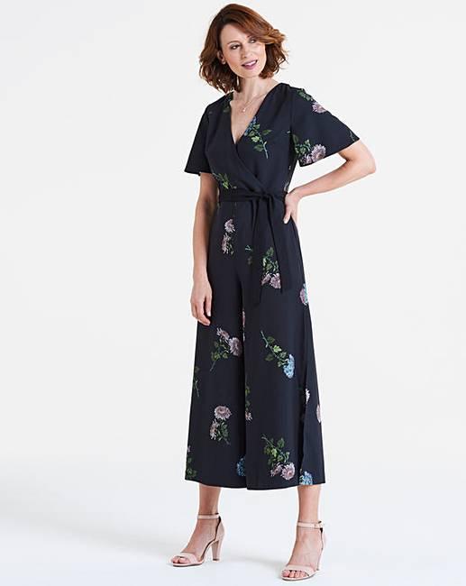 d435eb0dac9e Oasis NHM Dahlia Floral Jumpsuit | J D Williams