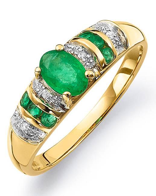 J D Williams Gold Ring