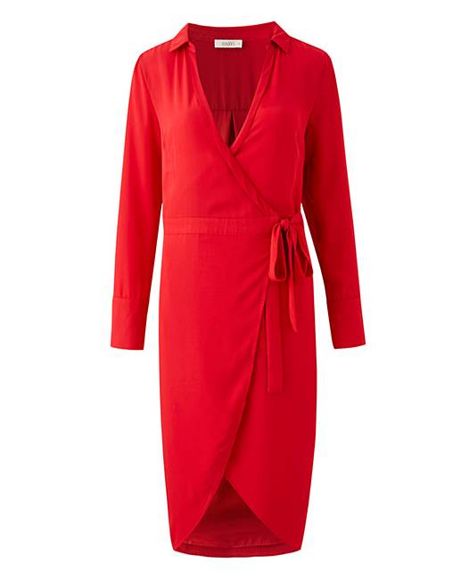1c261135b9f Oasis Curve Wrap Shirt Dress. Click to view  Oasis  products. Rollover  image to magnify