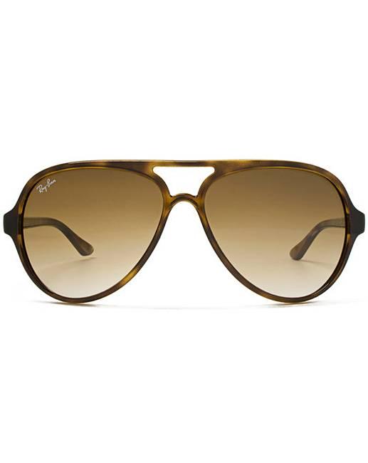 Ray-Ban Cats 5000 Aviator Sunglasses   Simply Be 7b1d4c1415f5