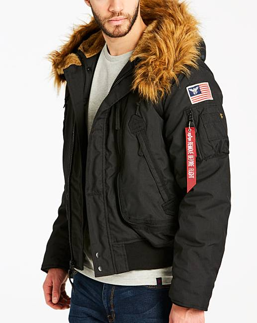 finest selection ee8f6 7f8b4 Alpha Industries MA-1 Polar Jacket SV