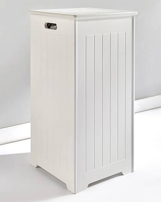 New England Slimline Laundry Hamper J D Williams