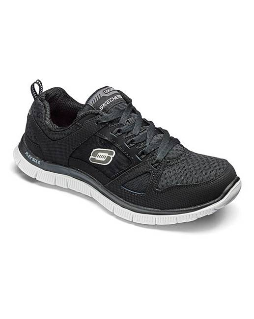 cb2c9c806966 Skechers Flex Appeal Trainers Wide Fit