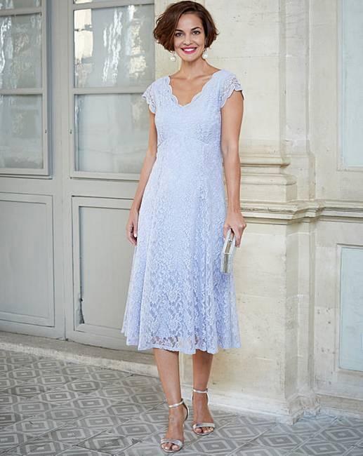 144c1f3f40d7 Joanna Hope Midi Scallop Lace Dress   Marisota
